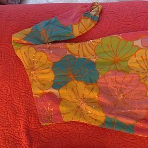 One Shoulder Summer Lily Pulitzer Dress